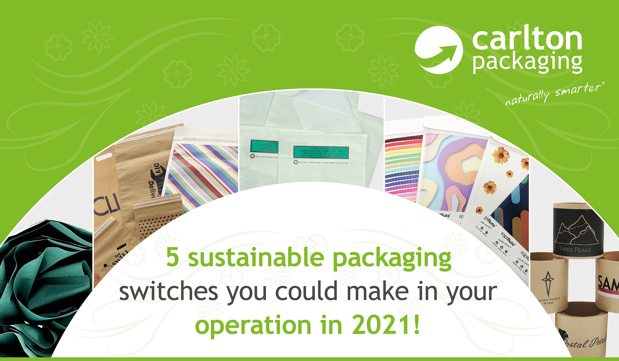 Sustainable packaging post-pandemic… Where to start!